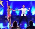 Gökhan ve Elmira latin dans gösterisi