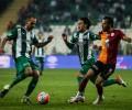 Bursaspor:1 Galatasaray:1