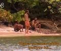Yüzerek uzaklaştılar ve adalarına baktılar!