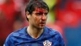 Türkiye-Hırvatistan maçında şok görüntü! Kanlar içinde...