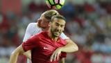 Türkiye-Rusya maçından kareler