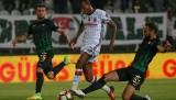 Akhisar Belediyespor-Beşiktaş maçından kareler