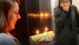 Ezgi Mola'dan Enis Arıkan'a korkutan doğum günü sürprizi
