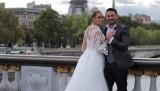 Ahmet Dursun Paris'te evlendi... Tebrikler ardı ardına geldi