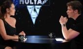 Hülya Avşar ve Sinan Akçıl'ın 'Mavi Mavi' kapışması!