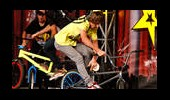Bursa Extreme Grubunun Bisiklet Akrobasi Gösterisi