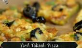 Yeşil tabanlı pizza (18/10/2015)
