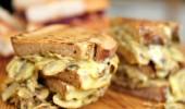 Mantarlı ve kaşarlı panini tarifi (06/12/2015)