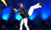 Toygun Kaan Kılınç ve Oktay Murat Kavak'ın dans gösterisi