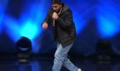 Serhan İnan'ın rap performansı