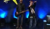 Levent Atar ve Buray Ruşen Çam'ın rap performansı