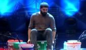 Baren Ahlas'ın bateri performansı