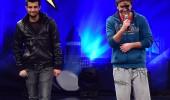 Gökhan ve Musa'nın rap performansı