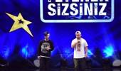 Deniz Kara, Berat Caner Beşel rap şarkı performansı