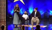 Şahin, İlker, Hasan ve Fadile'nin skeç gösterisi
