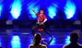 Orhan Ezizov'un dans gösterisi