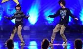 Sergen ve Koray'ın dans gösterisi