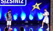 Batuhan Akyol ve Mert Karaca topla dans ettiler