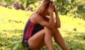 Böylesi zor görülür! Survivor'da Nagihan'ın çığlıkları...