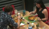 Serbay ve Esra baş başa yemek yedi!