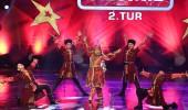 Fatima Sadıkhove ve Sema Dans Grubu'nun ikinci tur performansı