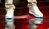 Yarışmacının ayakkabıları jürinin ilgi odağı oldu!