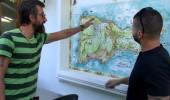 Yunus Günçe, Capri haritasında Zafer ve Serkay'ı buldu!