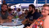 Serkay ve Zafer'in büyük şansı! Capri'de dondurma keyfi yaptılar...