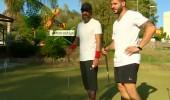 Yunus ve Mehmet'in golf deneyimleriden ilginç görüntüler...