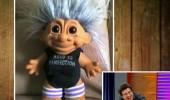 İbrahim'e benzeyen oyuncak bebek!