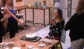 Serenay'a sürpriz kutlama
