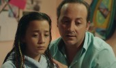 Tolga Çevik kızıyla aynı filmde rol aldı