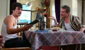 Ahmet Kural kendi filminin kamera arkasını ilk kez  3 Adam'da izledi!
