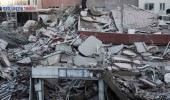 Zeytinburnun'daki 6 katlı binanın çöküş anı kamerada!