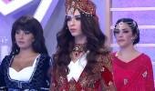 48. bölüm Aleyna Eroğlu podyumda