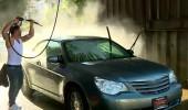 Mehmet ve Yunus araba yıkadı, para  kazandı!