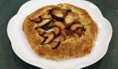 Elmalı ve erikli galette