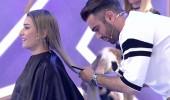 Kemal Doğulu, Dilara Taşkın'ın saçlarını kesti