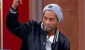 Efsane futbolcu Ronaldinho 3 Adam'da! Stüdyoya böyle geldi...