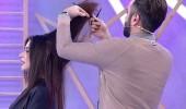 Kemal Doğulu'dan Aleyna'nın saçlarına operasyon!
