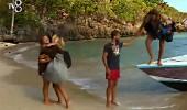 Gönüllüler, yeni adalarına ayak bastı! Sıcak karşılama...