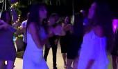 Birleşme partisinde DJ eşliğinde eğlendiler!