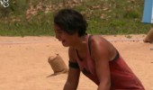Sabriye finalde kaybedince gözyaşlarını tutamadı: 'Nakavt olmuş durumdayım!'