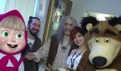 Doğukan Manço'dan Maşa ile Koca Ayı sürprizi