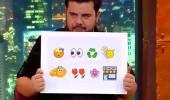 Emoji şarkı yarışması kahkahaya boğdu