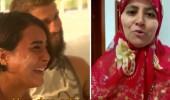 Ünlüler, ailelerinden gelen videoları izlediler!