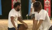 Voleybol maçında Serhat - Ogeday anlaşmazlığı!