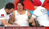 Hande Çinkitaş'ın annesi canlı yayında fenalaştı