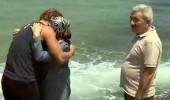 Adem ile ailesinin duygusal buluşması! Annesi gözyaşlarını tutamadı...