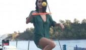 Beren Saat'in ilk tatil görüntüsü